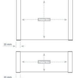 Dveřní cedulka 148 x 750 mm