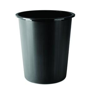 Koš odpadkový, plný, plastový, 14l., černý