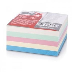 Špalíček papírový lepený 8,5x8,5x4,0cm BAREVNÝ