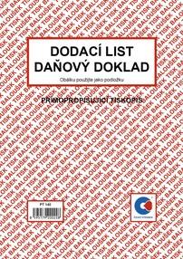 NCR Dodací list / daň.dokl. A5, 50 listů, BAL PT140