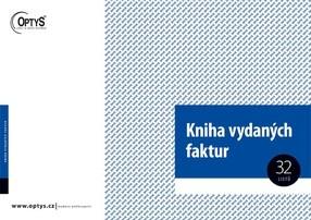 Kniha faktur vydaných (a pohledávek), A4, 32 listů, OP10