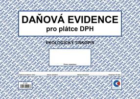 Peněžní deník pro plátce DPH, A4, 19 listů, BAL ET330