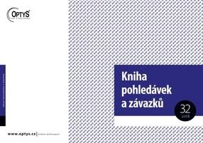 Kniha pohledávek a závazků, A4, 32 listů, OP8
