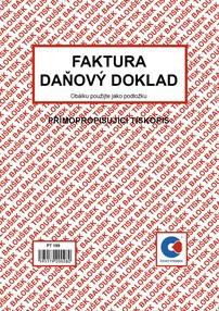 NCR Faktura / daň.dokl. A5, 50 listů, BAL PT199