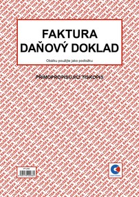 NCR Faktura / daň.dokl. A4, 50 listů, BAL PT210