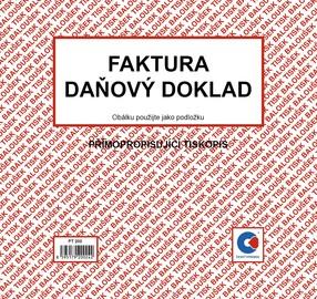 NCR Faktura / daň.dokl. 2/3 A4, 50 listů, BAL PT200
