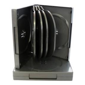 Krabička na 10DVD černá, tloušťka 34mm
