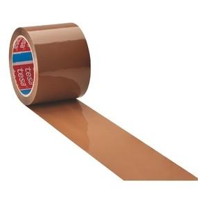 Páska lepící 75mm/66m hnědá TESA
