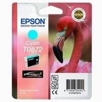 Cartridge EPSON T0872 cyan  (11,4 ml) orig.