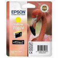 Cartridge EPSON T0874 yellow  (11,4 ml) orig.