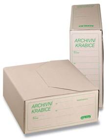 Krabice archivní EMBA A4 110mm II/350