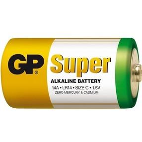 Baterie  C LR14 1,5V alkalická (malý monočlánek)