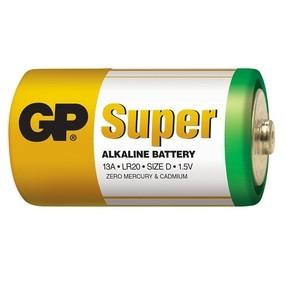 Baterie  D LR20 1,5V alkalická (monočlánek)