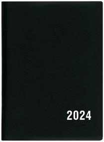 Diář týdenní Hynek PVC, černá, 2020, plánovací záznamník