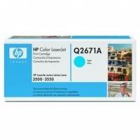 Toner HP Q2671A (309A) cyan pro HP LJ 3500/3550/3700 (4000str.) orig