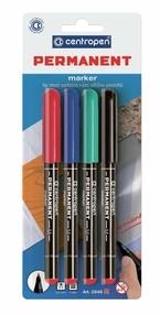 Popisovač Centropen 2846/4, sada 4 barev