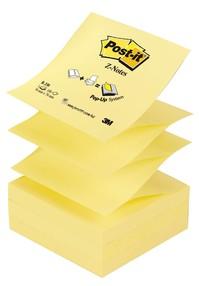 Bloček samolepící R330   76x 76mm, 100 žlutých Z-Z lístků, 3M