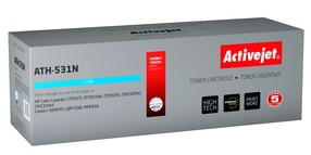 Toner HP CC531A (304A) / Canon CRG-718C modrý (2800 str.) ActiveJet New 100% ATH-531N