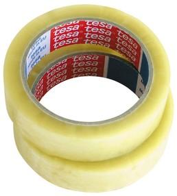 Páska lepící 25mm/66m transparentní TESA