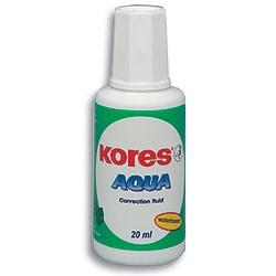 Korekturní lak Kores Aqua se štětečkem