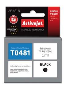 Cartridge EPSON T0481 černá (17ml) ActiveJet AE-481N