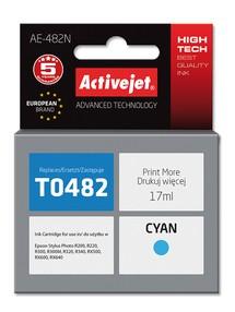 Cartridge EPSON T0482 modrá (17ml) ActiveJet AE-482N