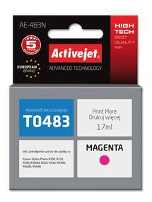 Cartridge EPSON T0483 červená (17ml) ActiveJet AE-483N