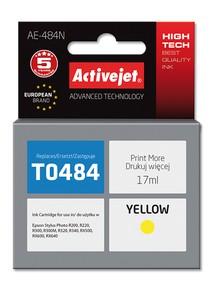 Cartridge EPSON T0484 žlutá (17ml) ActiveJet AE-484N