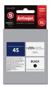 Cartridge HP 51645A černá č.45 (50ml) ActiveJet  Premium A+ (AH-45R)