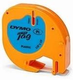 Páska Dymo LetraTag plastová modrá ultra