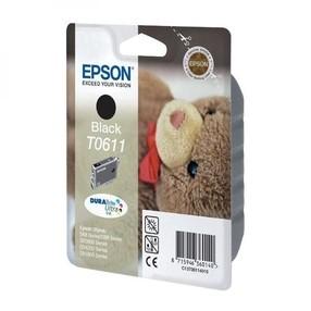Cartridge EPSON T0611 černá ( 8 ml) orig.
