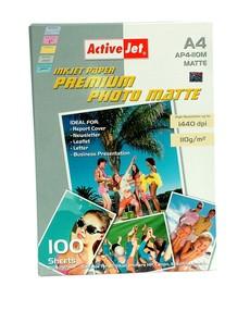 Fotopapír ActiveJet 105g/m2 A4/100 listů Premium Photo Matte AP4-105M100