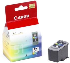 Cartridge Canon CL-51 barevná (3*7ml) orig.