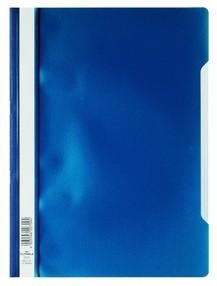 Rychlovazač A4 tmavě modrý, průhl.př.strana