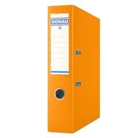 Pořadač pákový Donau PP/karton oranžový 75mm