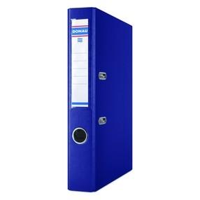 Pořadač pákový Donau PP/karton modrý tmavě švestkový 50mm