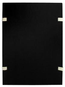 Deska s tkanicí A4 EKO jednobar.černá