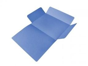Mapa odkládací tříklopá A4 modrá CLASSIC bal.50ks