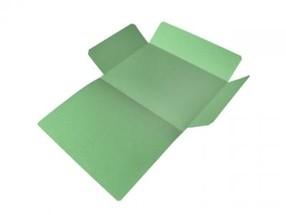 Mapa odkládací tříklopá A4 zelená CLASSIC bal.50ks