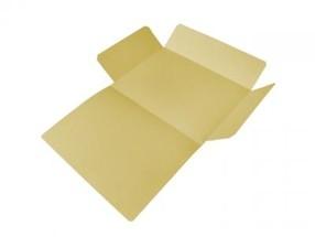 Mapa odkládací tříklopá A4 žlutá CLASSIC bal.50ks