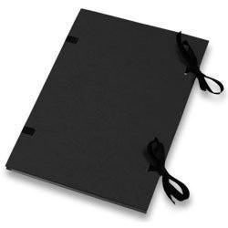 Deska s tkanicí A4 jednobar.černá