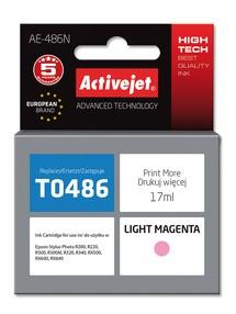 Cartridge EPSON T0486 Light Magenta (17ml) ActiveJet AE-486N