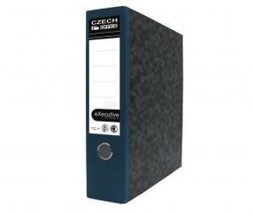 Pořadač pákový karton modrý 75mm
