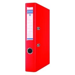 Pořadač pákový Donau PP/karton červený 50mm