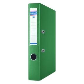 Pořadač pákový Donau PP/karton zelený 50mm