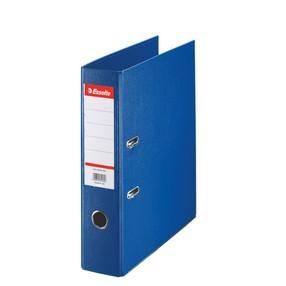 Pořadač pákový Esselte PP modrý 75mm - celoplast