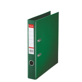 Pořadač pákový Esselte PP zelený 50mm - celoplast