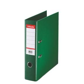 Pořadač pákový Esselte PP zelený 75mm - celoplast