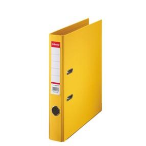 Pořadač pákový Esselte PP žlutý 50mm - celoplast