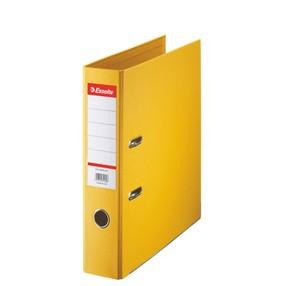 Pořadač pákový Esselte PP žlutý 75mm - celoplast